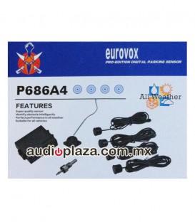Sensor de Reversa Eurovox P686A4