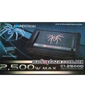 Amplificador Soundstream C1.2500D
