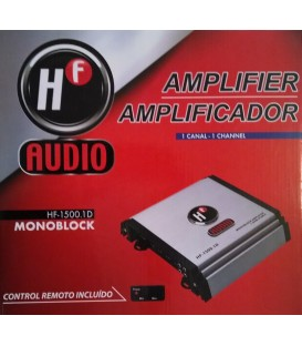 Amplificador HF Audio HF-1500.1D