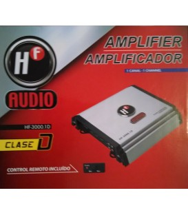 Amplificador HF Audio HF-3000.1D