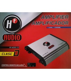 Amplificador HF Audio HF-4000.1D