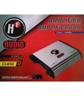 Amplificador HF Audio HF-4000.1D