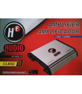 Amplificador HF Audio HF-5000.1D