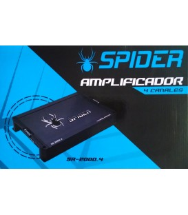 Amplificador Spider SR-2000.4